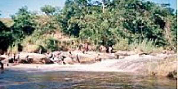 Cachoeira em Itajutiba-Foto:GIAN CARLO 1978