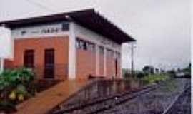 Itamarati - Estação Ferroviária em 1993-Foto:Edernilto