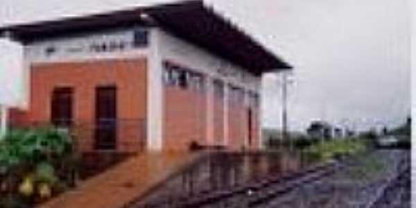 Estação Ferroviária em 1993-Foto:Edernilto
