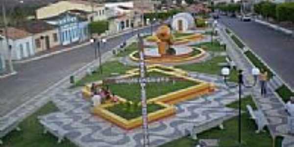 Praça em Abaíra-Foto:toninhocavanha