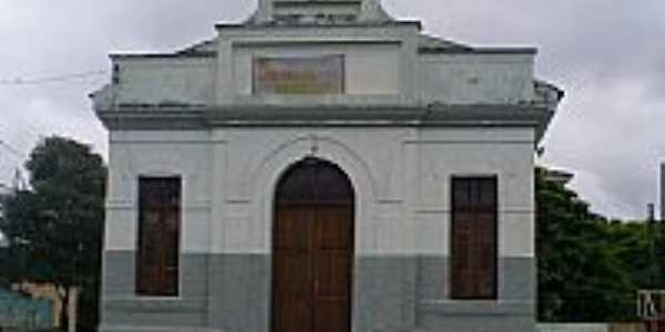 Itaúna-MG-Capela ao lado da Igreja de N.Sra.do Rosário-Foto:Délio de Lemos