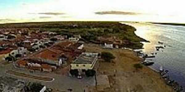 Abaré-BA-Vista da cidade-Foto:naldinho beira rio