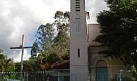 Ituí - Igreja de São José-Foto:Freis Capuchinhos