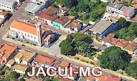 Jacuí - Jacuí-MG-Vista do centro da cidade-Foto: Edson dos Santos Clarismunde