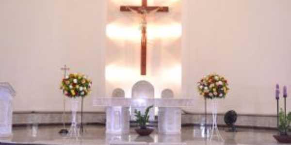 Altar da Igreja Matriz Jacuí-MG, Por Edson dos Santos Clarismunde