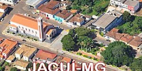 Jacuí-MG-Vista do centro da cidade-Foto: Edson dos Santos Clarismunde
