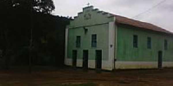 Igreja em Jaguaritira, município de Malacacheta-Foto:Hamilton Paranhos