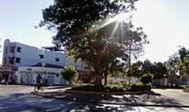 Janaúba - Janaúba-MG-Praça do Cristo Redentor-Foto:Rômulo Henok