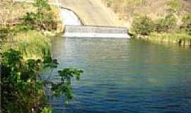 Jana�ba - Jana�ba-MG-Sangradouro da Barragem-Foto:FSathler