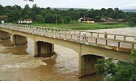 Jequitaí - Jequitaí-MG-Ponte sobre o Rio Jequitaí-Foto:MuriloGeovani
