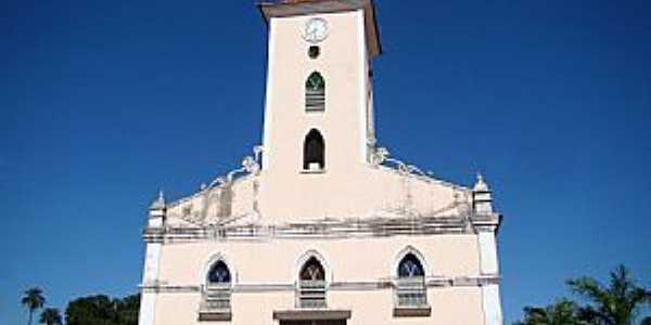 Jequitaí-MG-Matriz de N.Sra.da Conceição-Foto:Vicente A. Queiroz