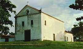 Abrantes - Abrantes-BA-Igreja do Divino Espírito Santo,antes da reforma-Foto:Paulo Pedro P. R.Costa