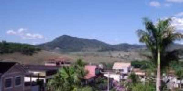 Pico do Urubu, visto da Praça Bom Jesus, Por Cassiano Faria