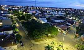 Jo�o Pinheiro - Pra�a da Prefeitura e parcial da cidade-Foto:cleiton_vidalokap2