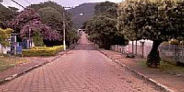 Avenida em Joaquim Felício-MG-Foto:wsperdigao