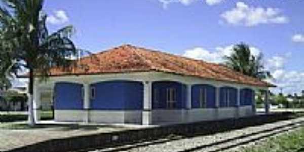 Estação em 2006 de Acajutiba-Foto:Acervo José Matias Ribeiro Costa
