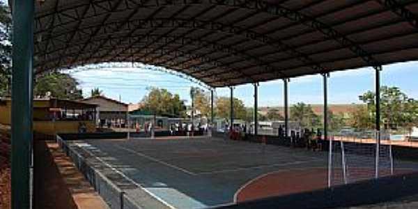 Jubaí-MG-Quadra Poliesportiva coberta-Foto:camaraconquista.mg.gov.br
