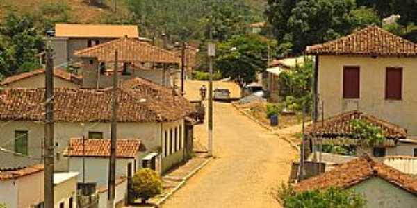 Juiraçu-MG-Rua do Distrito-Foto:duprata.comdistritos-e-povados