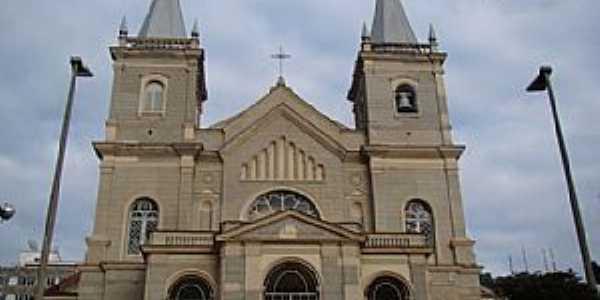 Juiz de Fora-MG-Catedral Metropolitana-Par�quia de Santo Ant�nio-Foto:pt.wikipedia.org