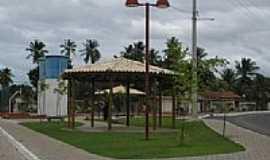 Açu da Torre - Quiosque na praça em Açu da Torre-Foto:matadesaojoao.ba.