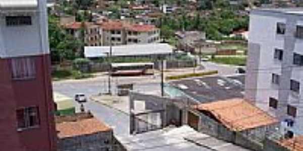 Vista parcial da cidade-Foto:Quequeto