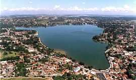 Lagoa da Prata - Lagoa da Prata-MG-Vista aérea-Foto:juventudeativals.blogspot.com