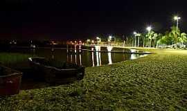 Lagoa da Prata - Lagoa da Prata-MG-Vista noturna da Lagoa Municipal-Foto:André Laine