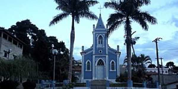 Lagoa Dourada-MG-Igreja de N.Sra.do Rosário-Foto:Arlindo Miranda