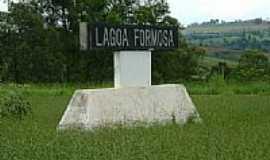 Lagoa Formosa - Entrada da cidade-Foto:montanha