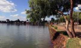 Lagoa Formosa - Lagoa Formosa-MG-Vista da orla-Foto:Mericon Faustino Caixeta