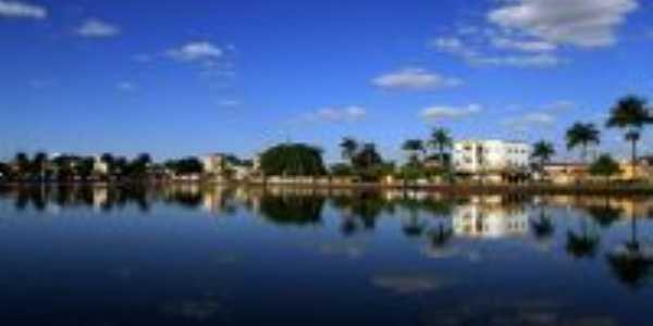Lagoa Formosa-MG-Orla da Lagoa-Foto:Mericon Faustino Caixeta
