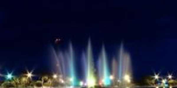 Lagoa Formosa-MG-Fonte Luminosa-Foto:Mericon Faustino Caixeta