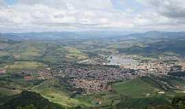 Lambari - Lambarí-MG-Vista aérea da cidade e região-Foto:mmaximiano