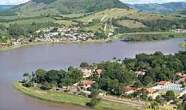 Lambari - Lambar�-MG-Vista a�rea do Lago-Foto:Josue Marinho