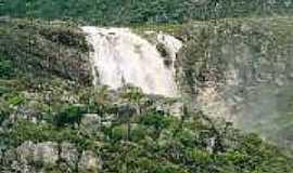 Lapinha - Lapinha-MG-Cachoeira do Rapel-Foto:guiadalapinha.
