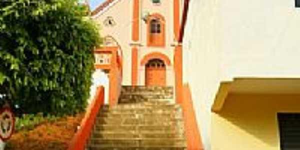 escadarias da Igreja Matriz Imaculada conceição foto sgtrangel