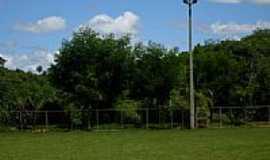 Leme do Prado - Campo do Estádio Municipal em Leme do Prado-MG-Foto:Enio FSR