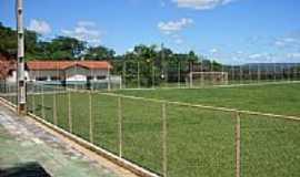 Leme do Prado - Estádio Municipal em Leme do Prado-MG-Foto:Enio FSR