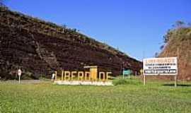 Liberdade - Liberdade-MG-Trevo de acesso-Foto:Halley Pacheco de Oliveira