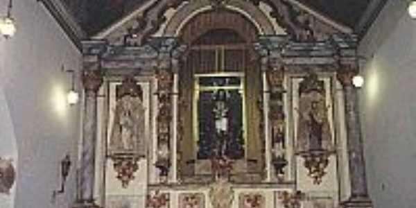 Liberdade-MG-Altat da Igreja/Santuário do Senhor Bom Jesus do Livramento-Foto:Princesz