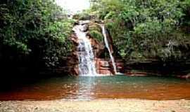 Lima Duarte - Cachoeira do Souza em Lima Duarte-MG-Foto:Marcio Lucinda