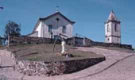 Lima Duarte - Igreja de N.Sra.da Concei��o na Vila de Ibitipoca em Lima Duarte-MG-Foto:Marcio Lucinda