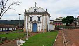 Lobo Leite - Praça e Igreja de N.Sra.da Soledade-Foto:souexcel