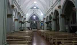 Luz - Interior da catedral de Luz,MG, Por Eliane de Fátima