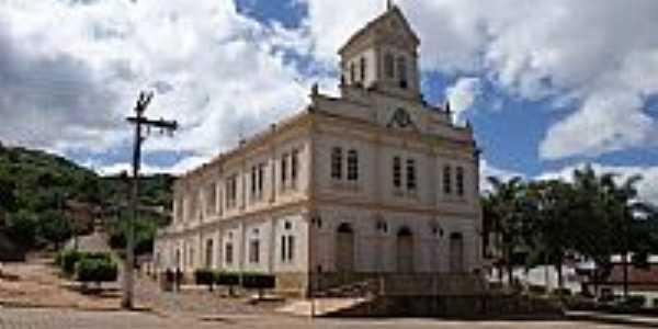 Malacacheta-MG-Matriz de Santa Rita de Cássia-Foto:Ailton Gomes Pêgo