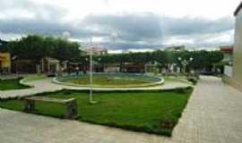Mamonas - Praça da Matriz em Mamonas-MG-Foto:Aelson N Pereira