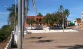Manga - Praça da Cultura com o Forum ao fundo-Foto:Carlos Cabral/Rj