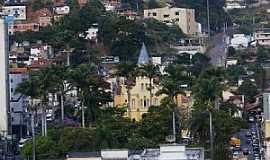 Manhuaçu - Manhuaçu-MG-Vista da área central-Foto:Elpídio Justino de Andrade