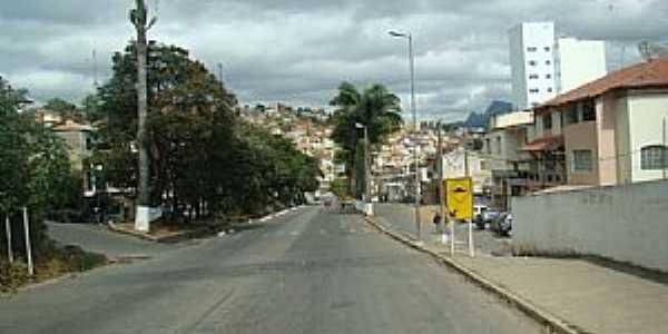 Manhuaçu-MG-Entrada da cidade-Foto:JAIRO NUNES FERREIRA
