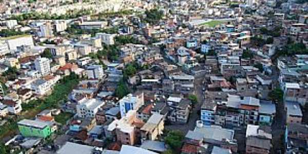 Manhuaçu-MG-Vista aérea-Foto:Portal Manhuaçu-Facebook